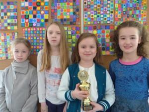 Schach Team Mädchen